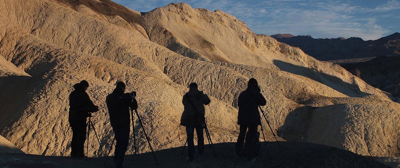 Con I miei partecipanti a Death Valley